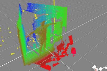 深度情報3D化・モーキャプ中