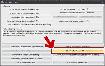 Windows10関連のプログラムを削除