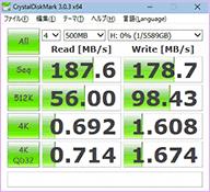 HDDの速度