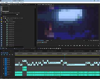 Adobe Premiere Proでガシガシ編集