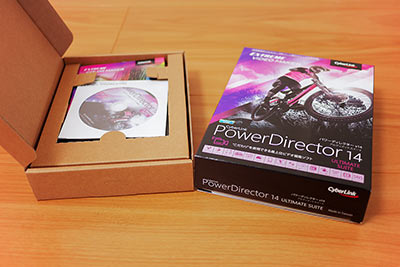 PowerDirector14起動画面