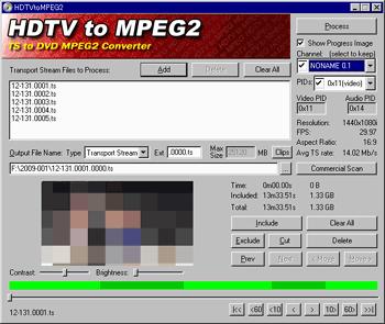 HDTV2MPEG使い方4