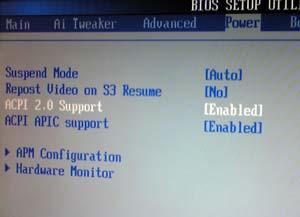 BIOSのUSB設定
