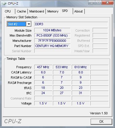 CPU-Zメモリスロット2