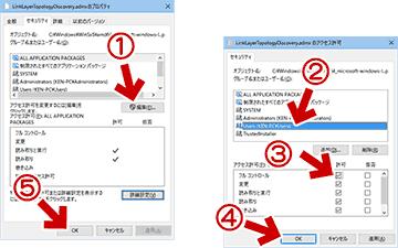 ファイルのアクセス許可を変更
