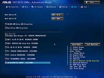 ASUS P9X79 DeluxeのUEFI画面