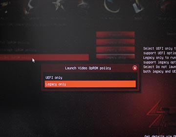 AsROckのCSMとFast Bootの設定