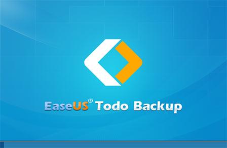 Windows PE版の EaseUS Todo Backup Free 起動画面