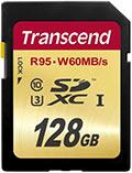 Transcend SDXCカード 128GB