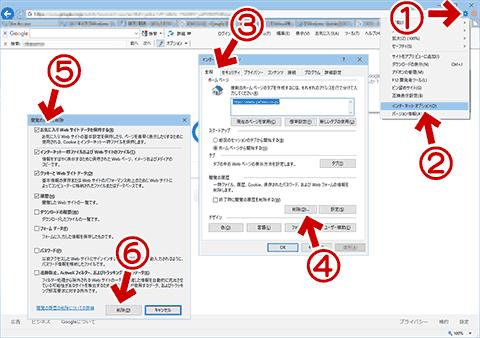 IE11で表示されるエラーダイアログ