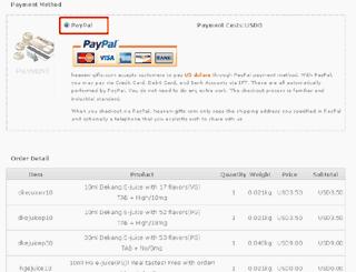 PayPal指定