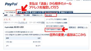 PayPalの利用方法