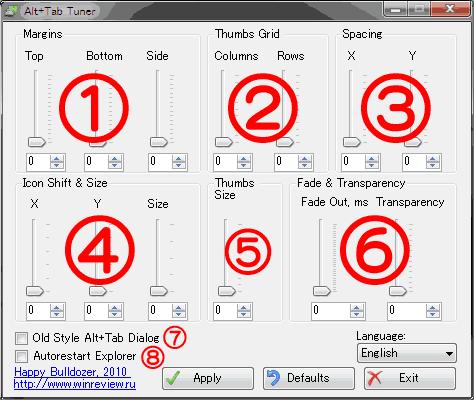 Alt+Tab Tuner