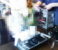 電源・HDD交換