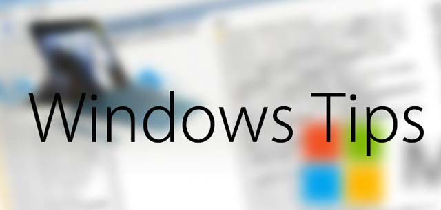 WindowsのTipsを紹介するページのアイキャッチ画像