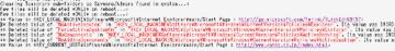 ログファイルで気になった部分