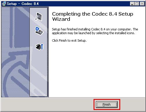 codec8.4のインストール8