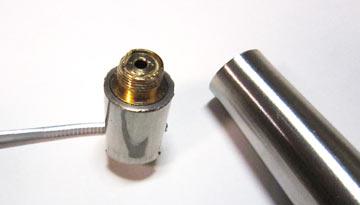 インナー接電側