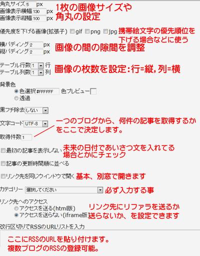 登録ページの簡単な解説図
