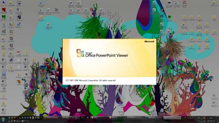 PowerPoint Viewer が無事起動
