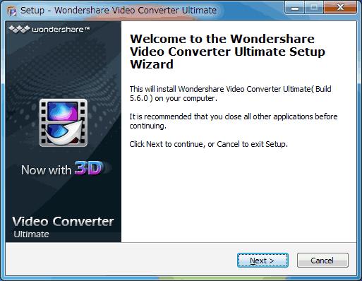 Video Converterインストール2英語版