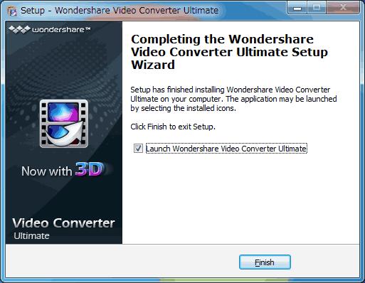 Video Converterインストール8英語版