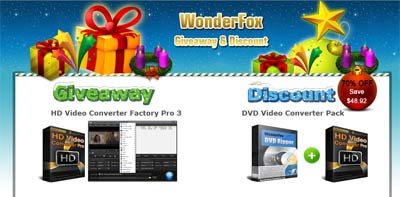 Giveaway HD Video Converter Factory Pro 3