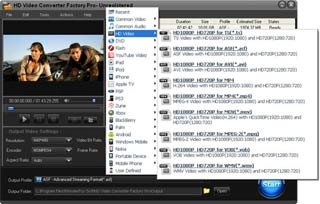 HD動画変換ソフト