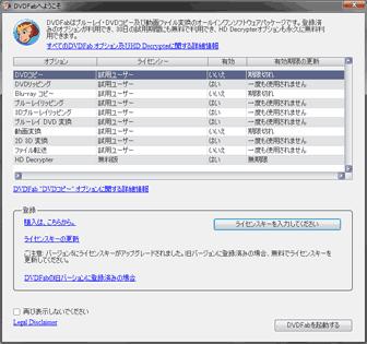 DVDFab 8 Qtの有効期限の図
