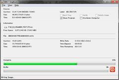 DVDFabでBlu-rayからISOファイルを作成中