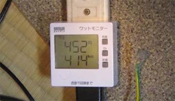 4.7Ghzで400W超え