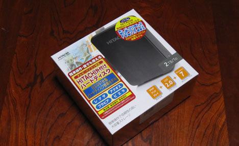 外付けHDDを購入