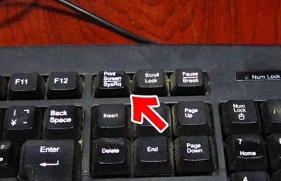 拡大図(古いキーボード)