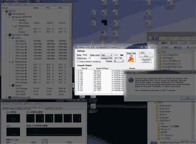 Linpack 4.2Ghzテスト結果