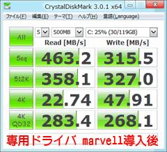 SSDの転送速度その2