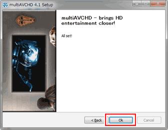 multiAVCHDのインストール方法