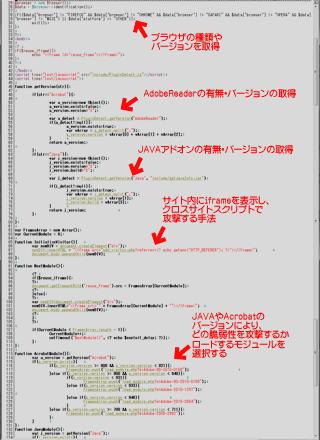 ウイルスをPCにロードするためのPHP