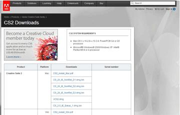 Adobeシリアルキーを無料公開