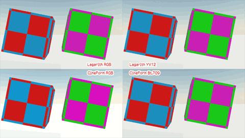 色の分解性能