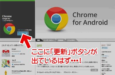 Google Chromeのアップデート