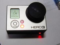 GoPro HERO3のファームアップデート2