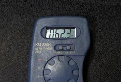 電圧ほぼゼロ