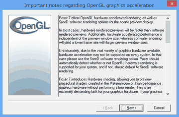 Windows8のOpenGL
