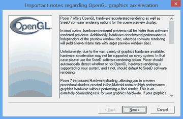 Windows8のOpenGL