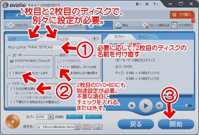 DVDFab 9の分割