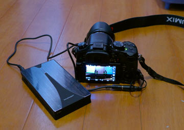 GH3の外部バッテリー