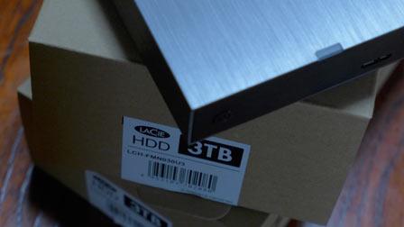 USB3.0外付けHDD「LaCie」3~4台目購入