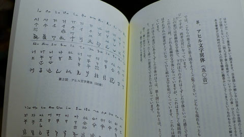 アヒル文字