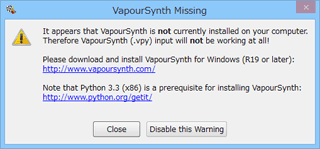 Vapoursynth