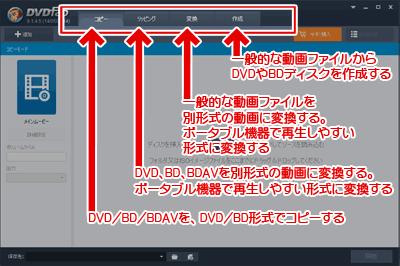 DVDFab 9の起動画面